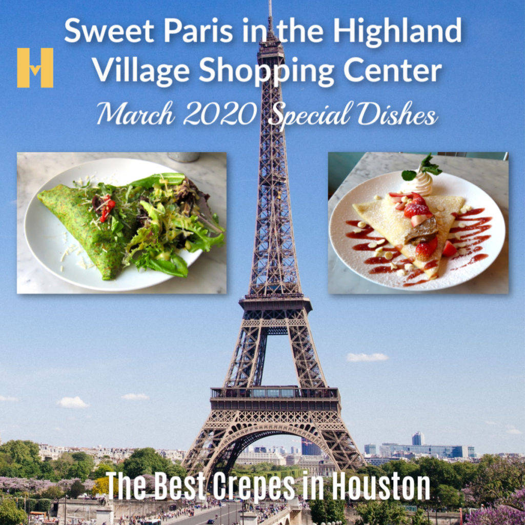 Sweet Paris at Houston's Highland Village