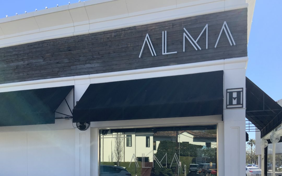 Alma's is open!